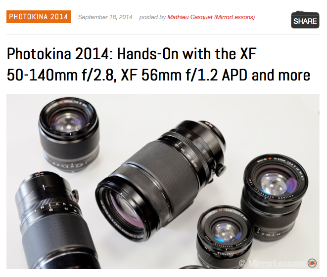http://www.bestmirrorlesscamerareviews.com/2014/09/18/photokina-2014-hands-on-with-the-xf-50-140mm-f2-8-xf-56mm-f1-2-apd-and-more/
