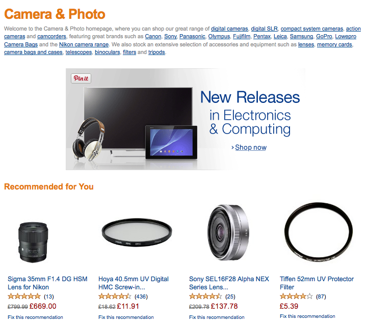 Amazon Camera