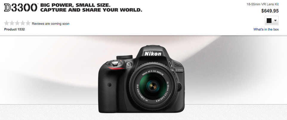 http://www.dpreview.com/news/2014/01/07/new-nikon-d3300-gains-new-sensor-processor-and-kit-lens?utm_source=notification&utm_medium=email&utm_campaign=generic