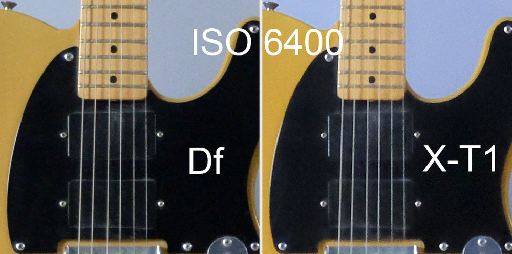 Fuji X-T1 vs Nikon DF