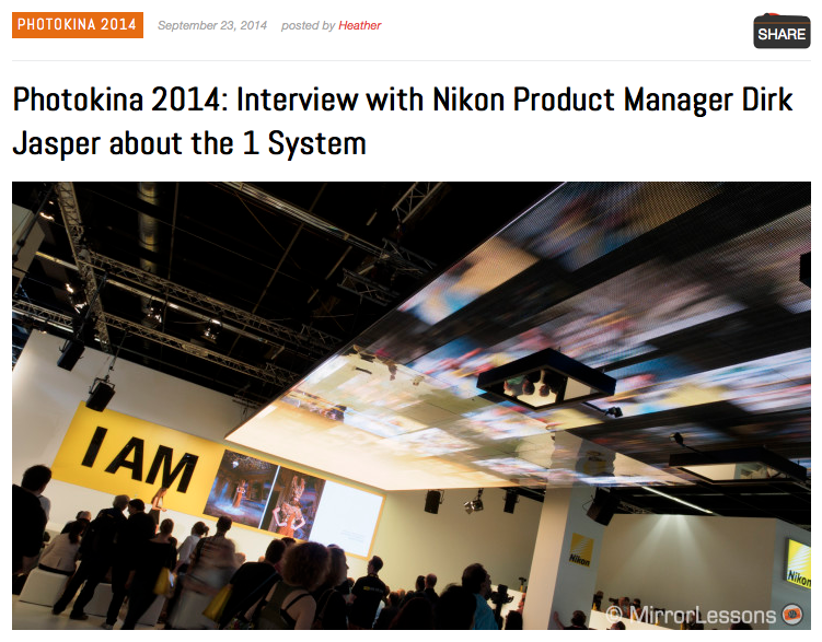 http://www.bestmirrorlesscamerareviews.com/2014/09/23/photokina-2014-interview-with-nikon-product-manager-dirk-jasper-about-the-1-system/