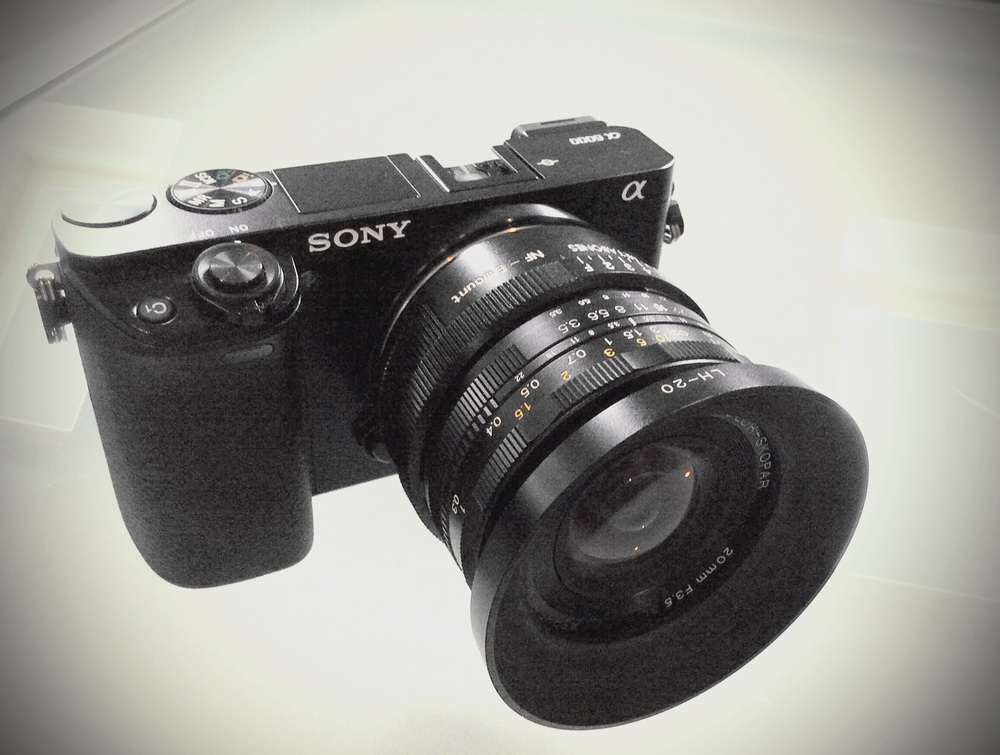 Sony a6000, Voigtländer 20mm f/3.5 SL-II Aspherical AI-P (Nikon F-Mount), Kipon Nikon F > e-mount adapter