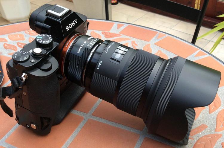 Resultado de imagen para Sigma 50mm f/1.4 DG HSM Art Lens for Sony E