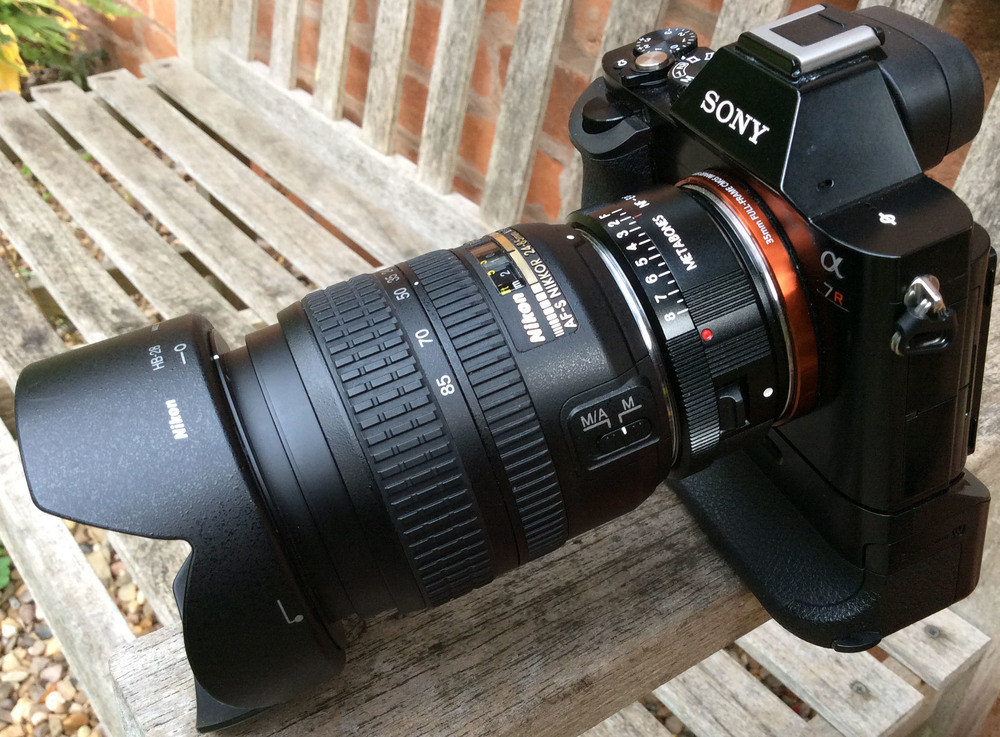 Sony A7r, Nikon 24-85mm f/3.5-4.5 G AF-S.