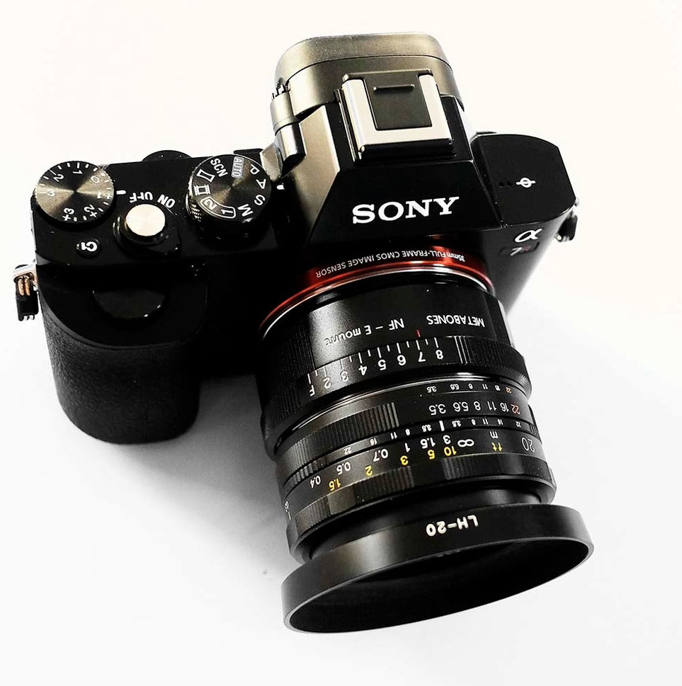 Sony A7r Voigtlander 20mm
