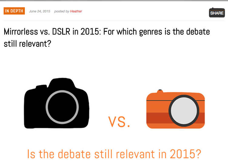 http://www.mirrorlessons.com/2015/06/24/mirrorless-vs-dslr-2015/