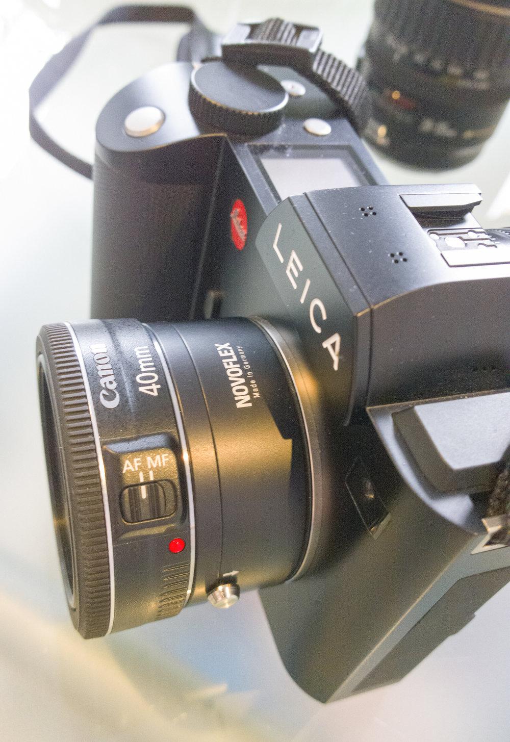 Novoflex Canon Eos Ef Lens To Leica Sl Typ 601 Af