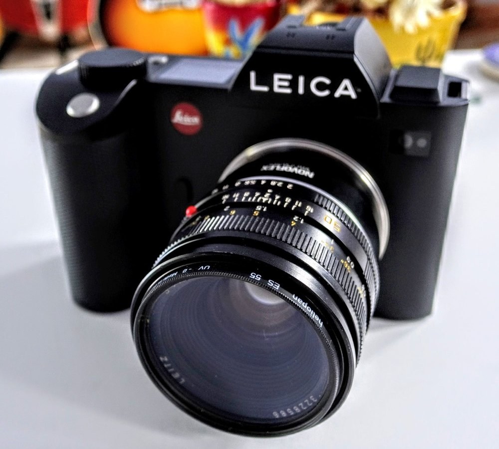 Mirrorless looks (and feels) a little different these days. This is my Leica SL (Typ 601)