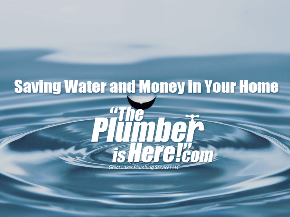 Saving Water and Money in Your Home | Hudsonville MI Plumber | Grandville MI Plumber