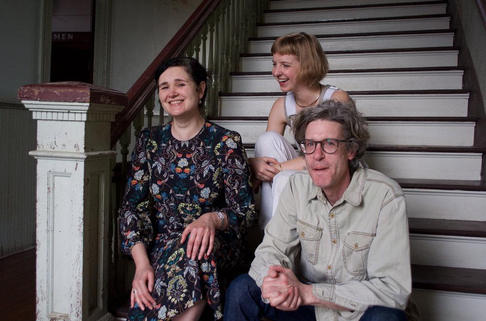 February 2017: Residents Heidi Laura, Katie Ford and Adam Raymont