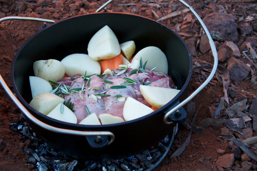 4 Simple Steps to a Non Stick Cast Iron Camp Oven