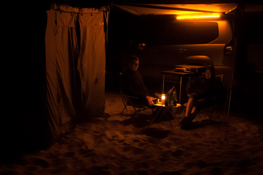 Soft lightning - not quite a campfire but relaxing nonetheless.