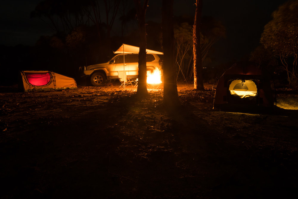 Holland Track, Western Australia - Camping, Campfire