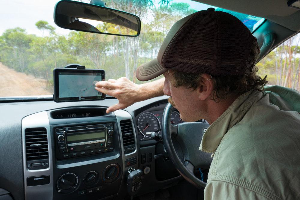 Holland Track, Western Australia - Hema HX-1 GPS Navigator