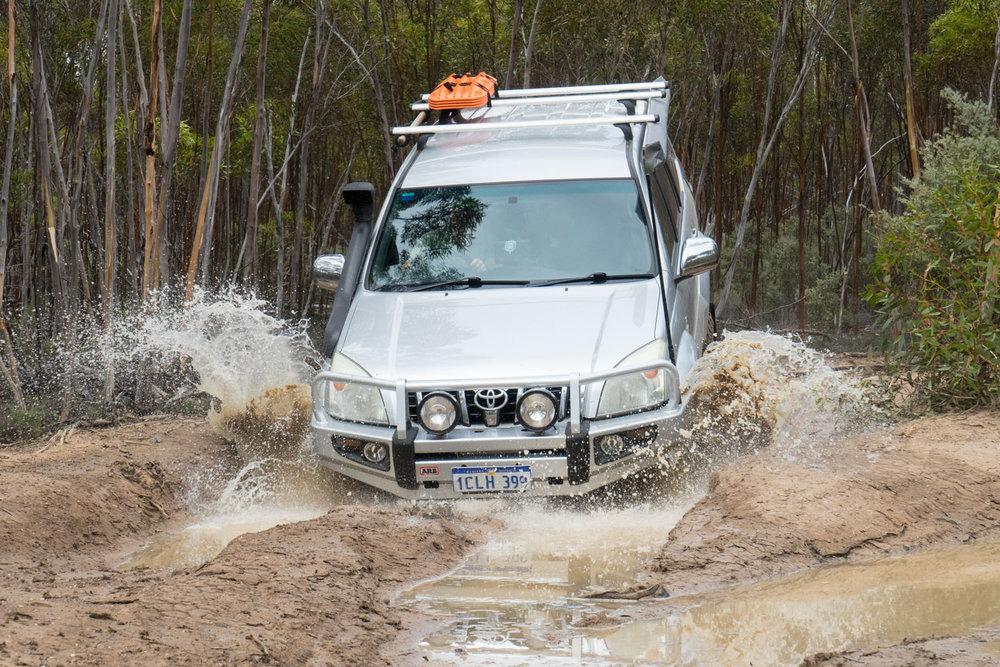 Holland Track, Western Australia - Mud