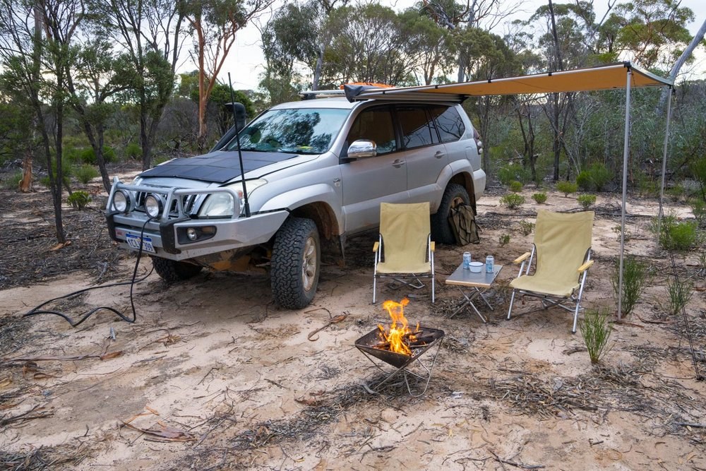 Holland Track, Western Australia - Camping