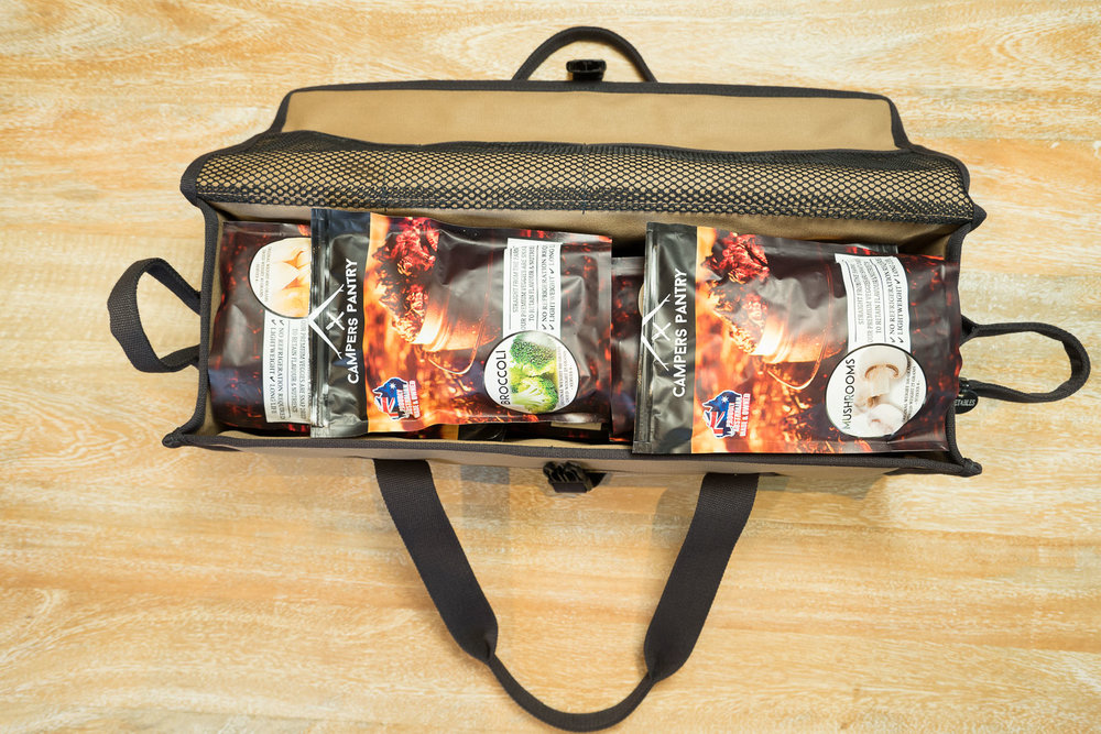 Camping Meals with Campers Pantry