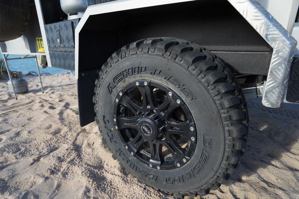 DRIFTA OFFROAD TOURER, DOT, Camper Trailer, 4x4, 4WD, CSA Rims