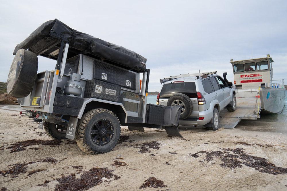 DRIFTA OFFROAD TOURER, DOT, Camper Trailer, 4x4, 4WD. Dirk Hartog Island