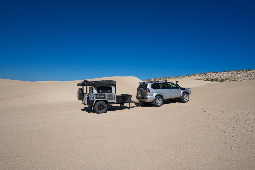 DRIFTA OFFROAD TOURER, DOT, Camper Trailer, 4x4, 4WD, Dirk Hartog Island