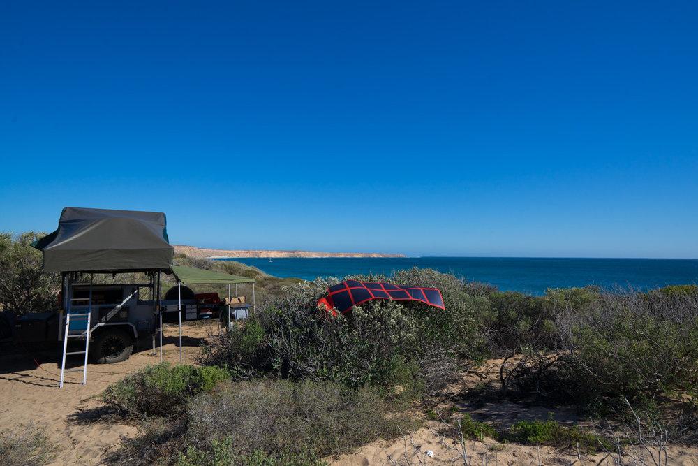 DRIFTA OFFROAD TOURER, DOT, Camper Trailer, 4x4, 4WD, REDARC Solar Blanket, Dirk Hartog Island
