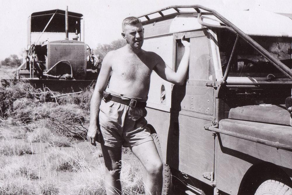 Len Beadell - Land Rover