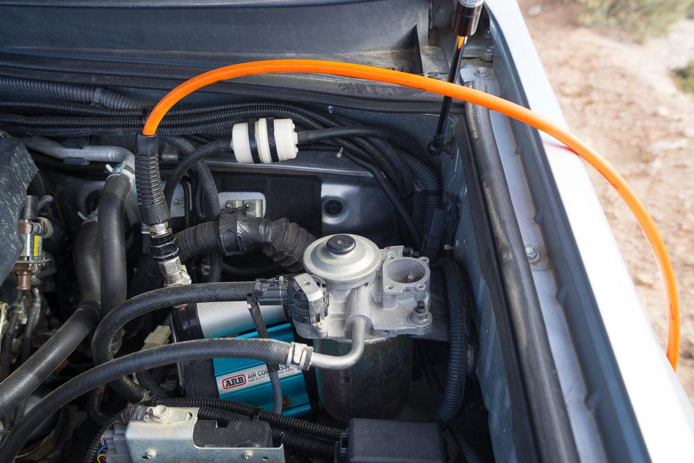 ARB Compressor and Gauge, 4WD Tire Pressure