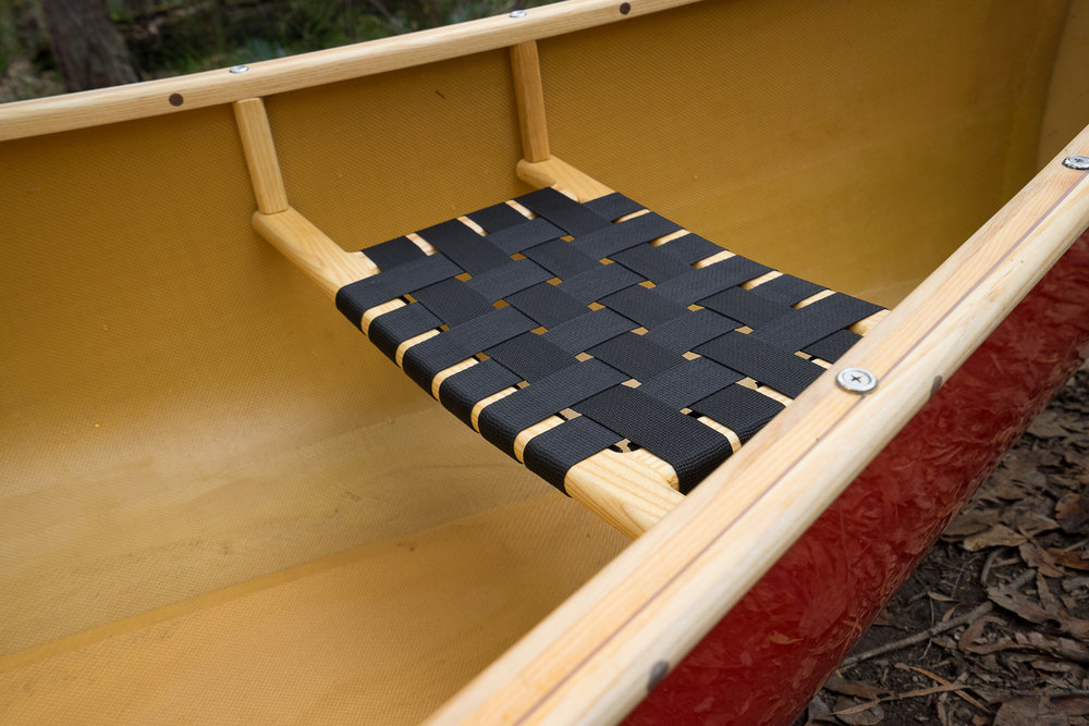 The Wenonah 17 open canoe, Paddle and Portage Canoes