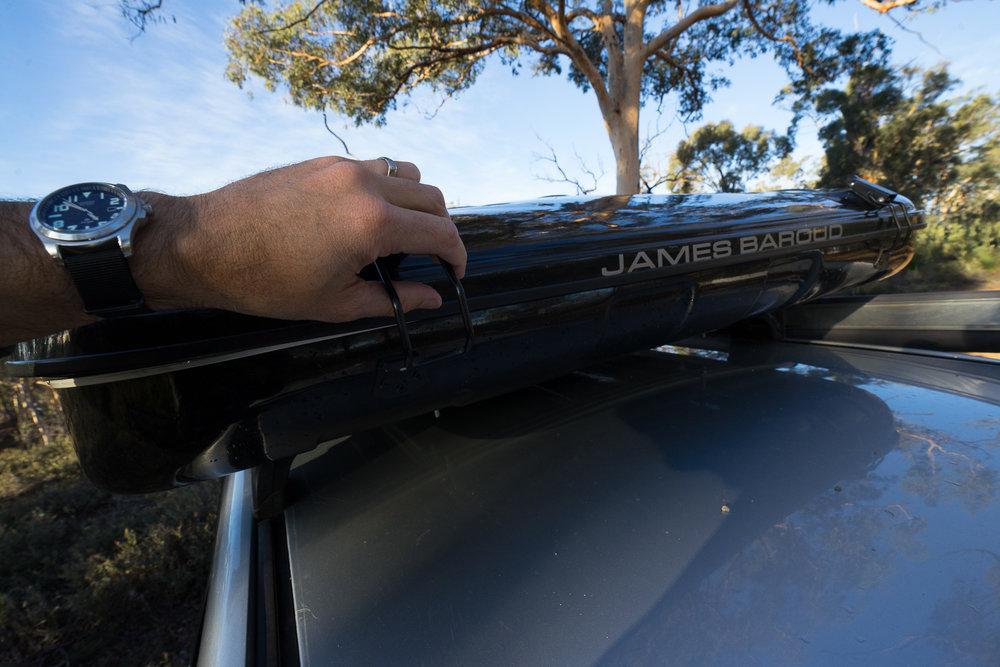 James Baroud Offroad Tents Espace Evolution Black