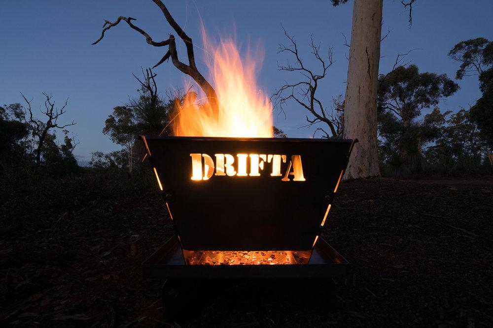 DRIFTA Firepit for Camping