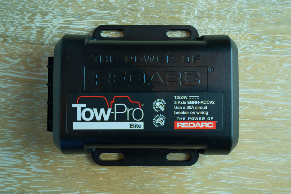 REDARC Tow-Pro Elite Brake Controller, Safe Towing