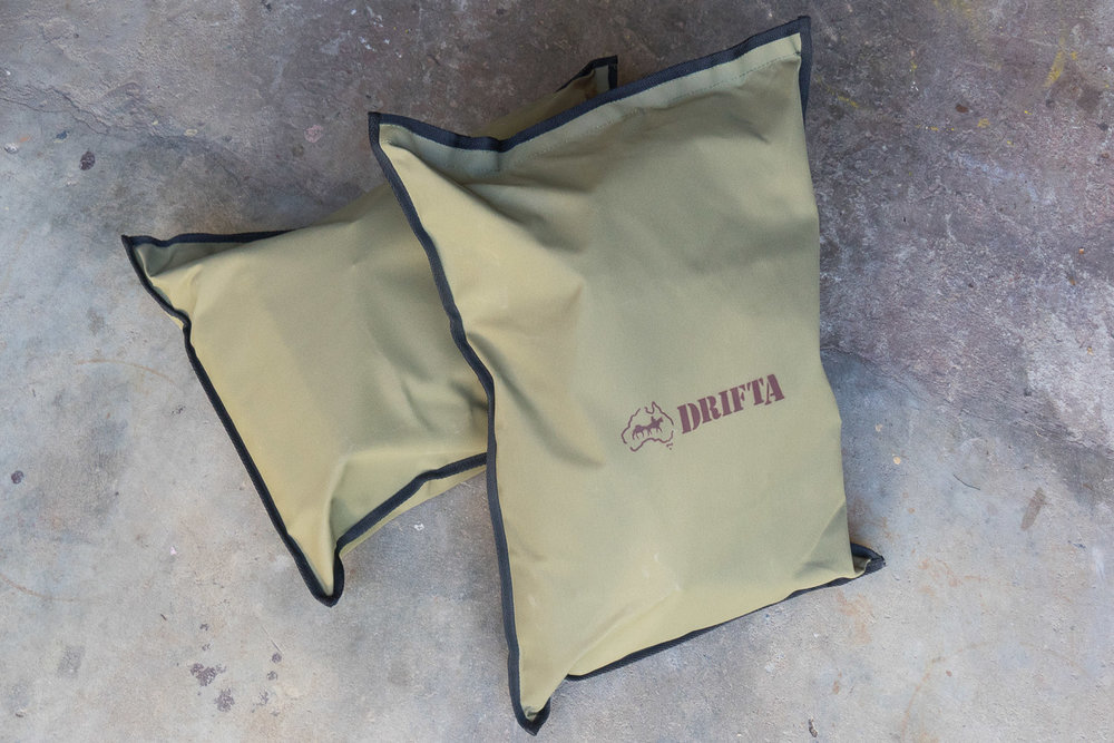 DRIFTA Canvas Firewood Bag, Australian Made
