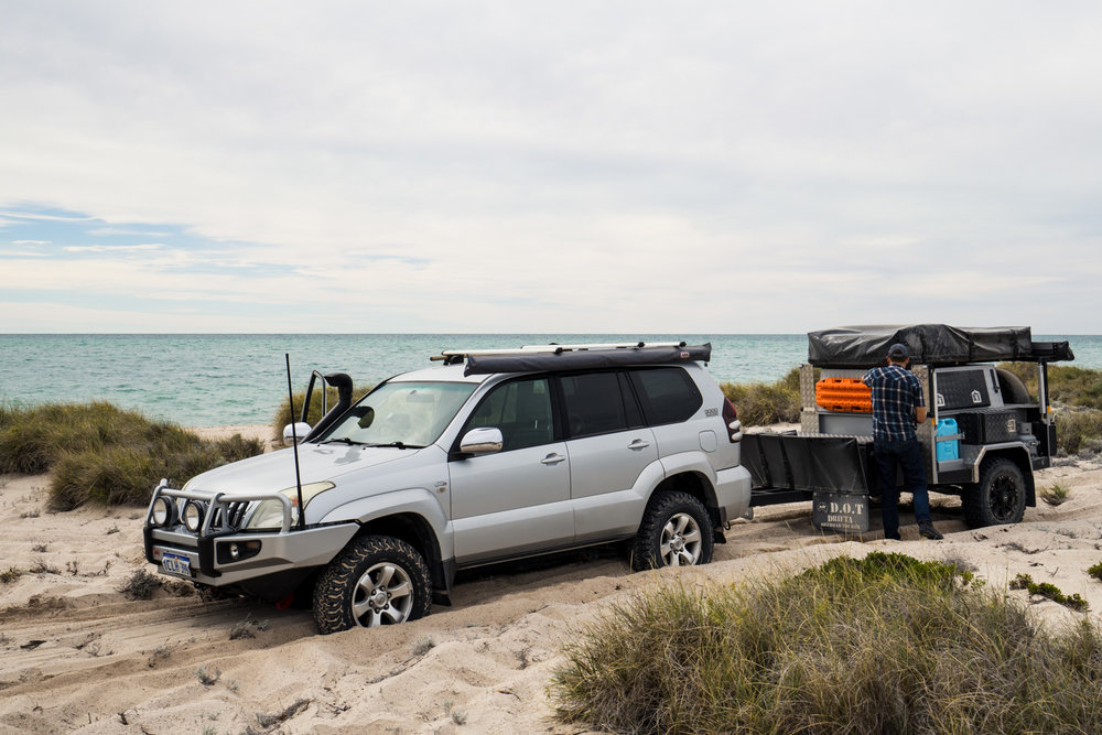MAXTRAX Camper Trailer Recovery 4x4