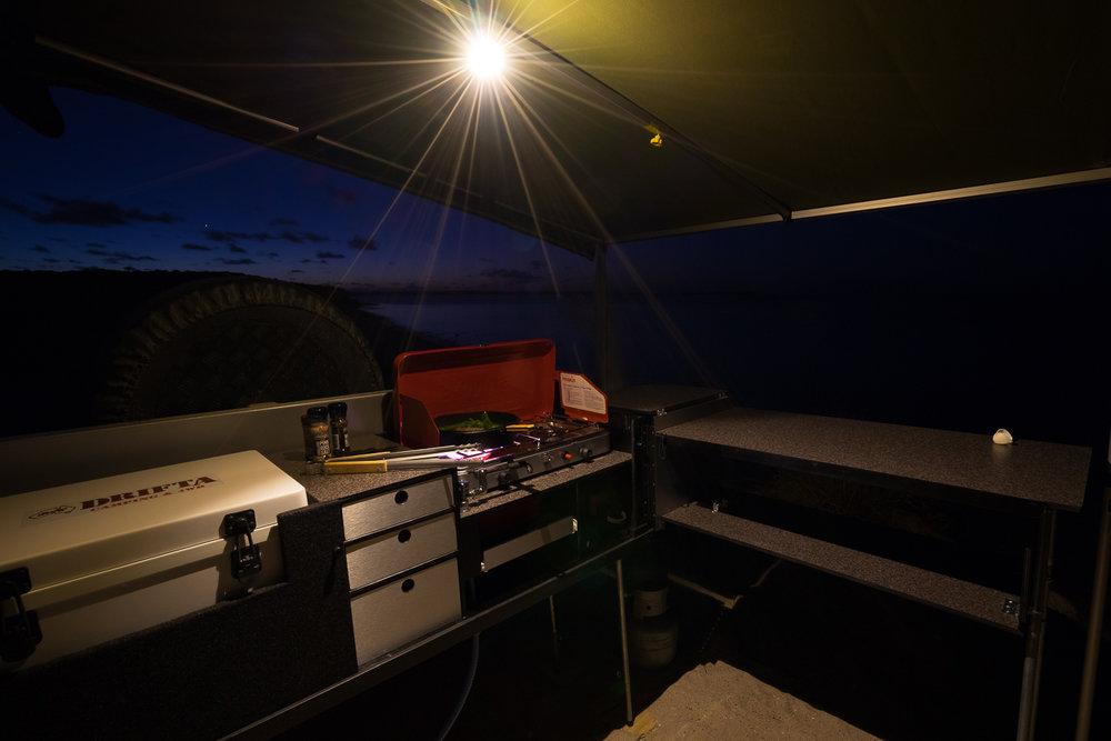 DRIFTA Camper Trailer Kitchen, Camp Cooking, 4x4