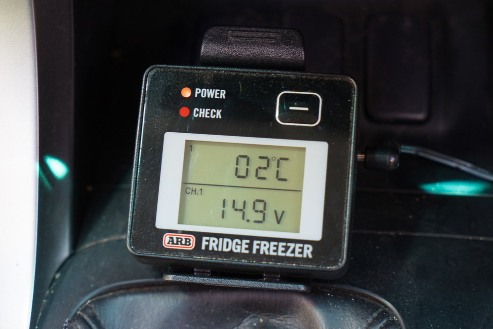 ARB Fridge Freezer Monitor