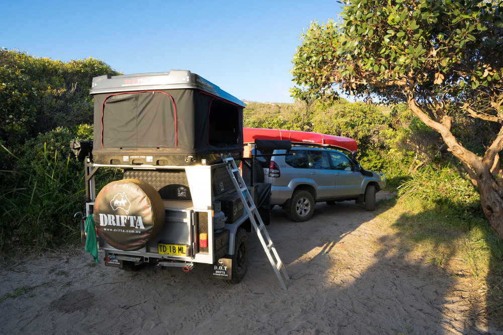 DRIFTA DOT 6 HARD TOP CAMPER TRAILER WITH BACKTRAX TENT