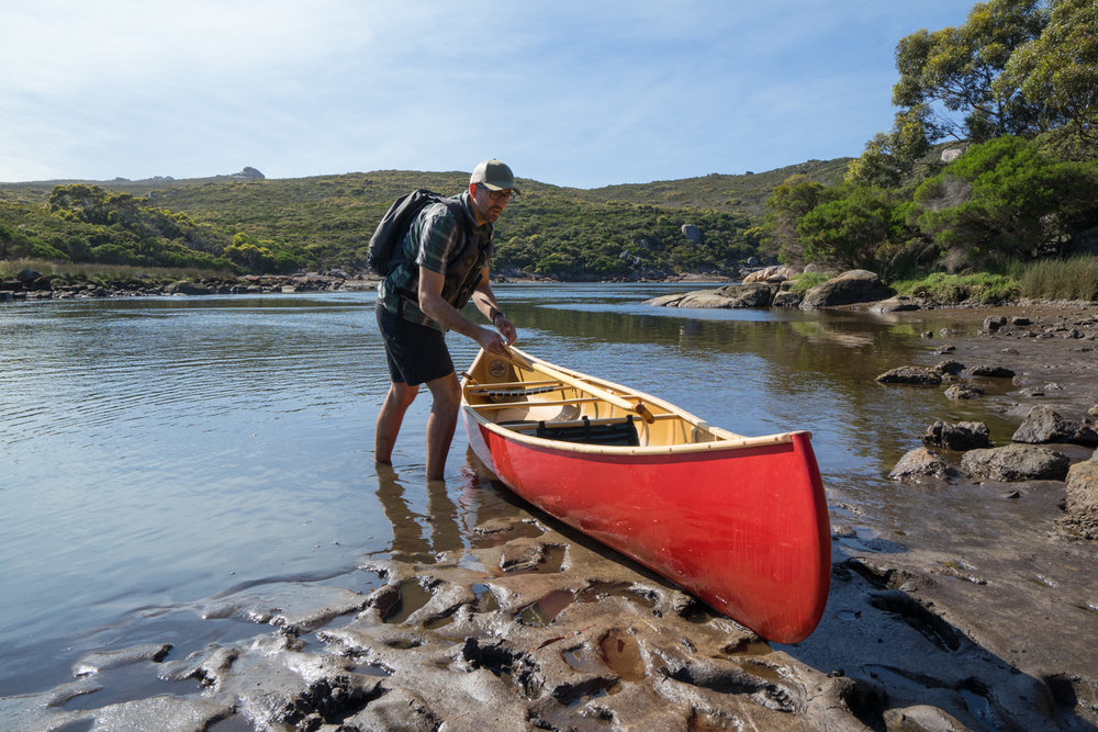 Canoeing, Australia, Wenonah, Paddle and Portage Canoes, Inlet, Blue, Waters