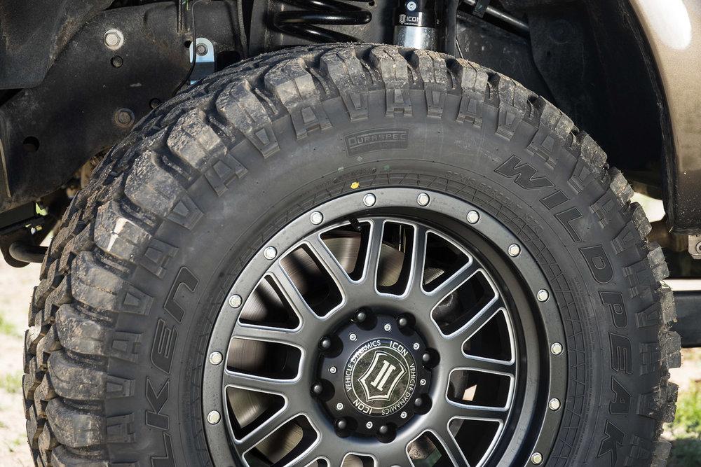 Matt Scott, Ford F250 Super Duty Lariat, MAXTRAX, ICON Vehicle Dynamics, FALKEN Tyres