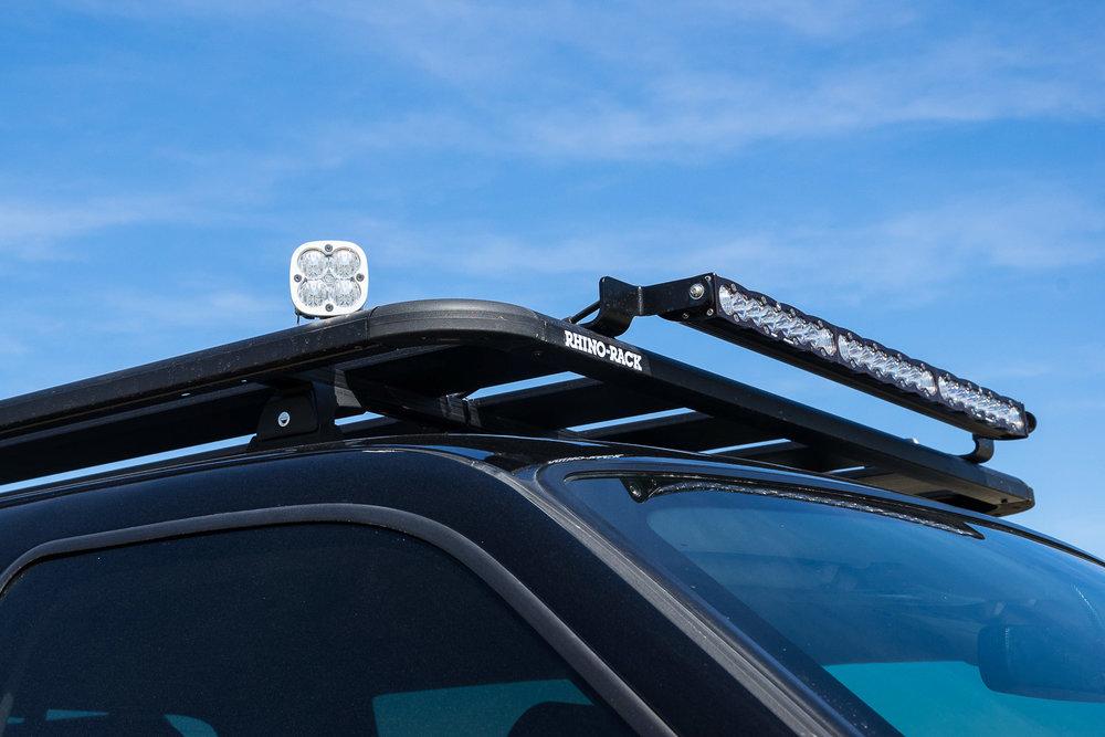 Matt Scott, Ford F250 Super Duty Lariat, MAXTRAX, RHINO RACK, BAJA DESIGNS