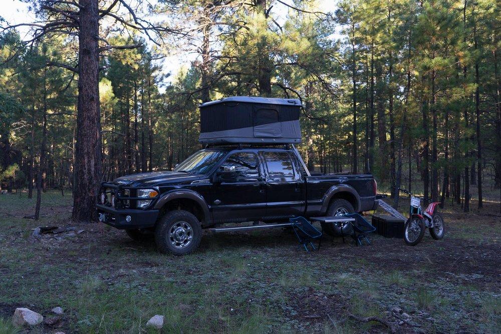 Matt Scott, Ford F250 Super Duty Lariat, MAXTRAX, ROTOPAX, ARB, RHINO RACK, JAMES BAROUD Rooftop Tents