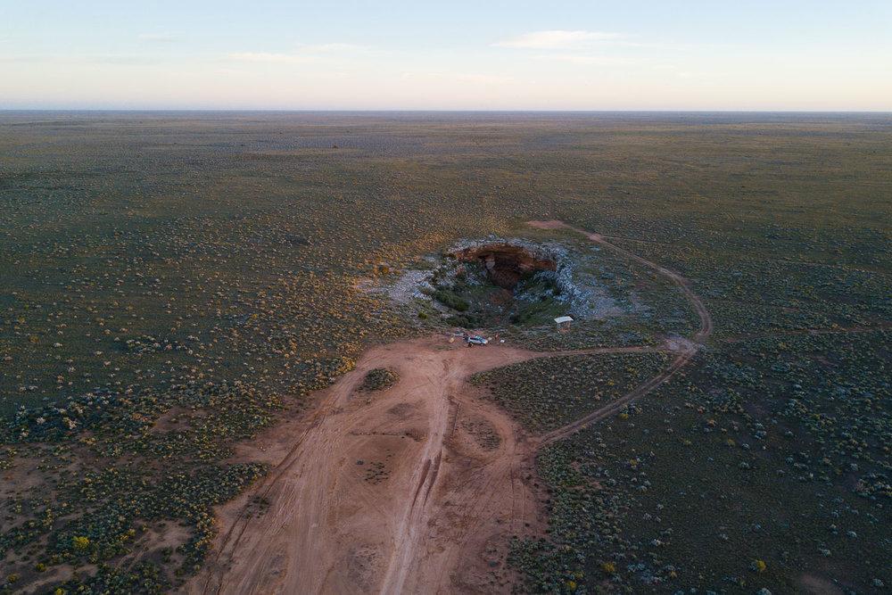 Cocklebiddy Cave Nullarbor Plain Western Australia