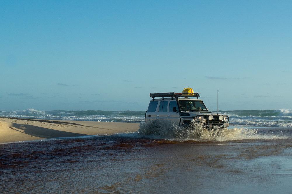 Meerup River crossing, D'Entrecasteaux National Park, Western Australia