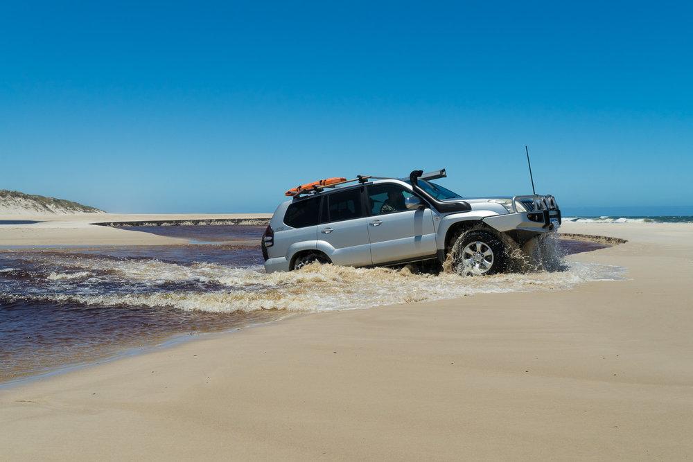 Warren River crossing, D'Entrecasteaux National Park, Western Australia