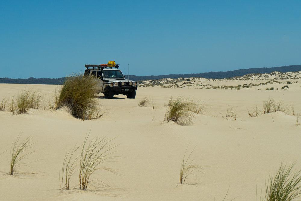 Yaegarup dunes, D'Entrecasteaux National Park, Western Australia