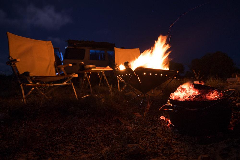 Snow Peak Fire Pit