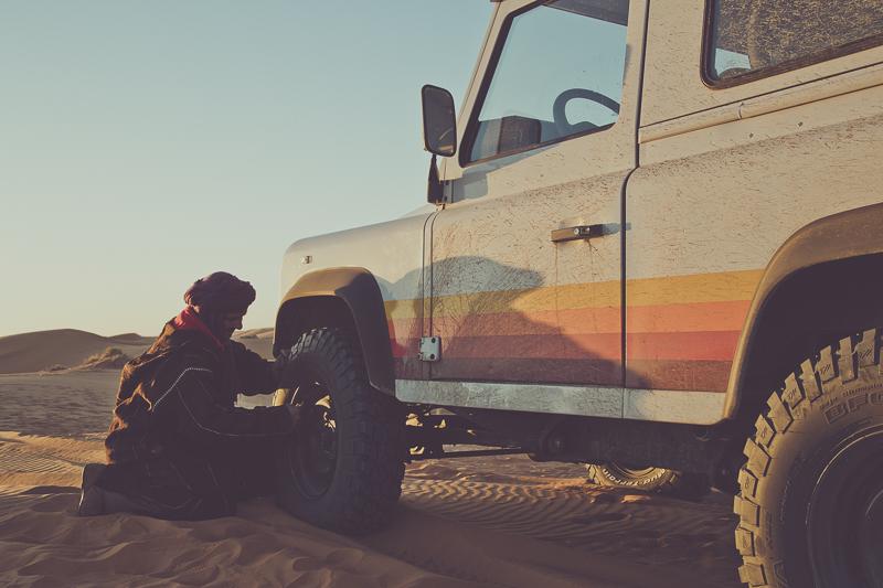 Sahara, Cool N Vintage Landrover Defenders