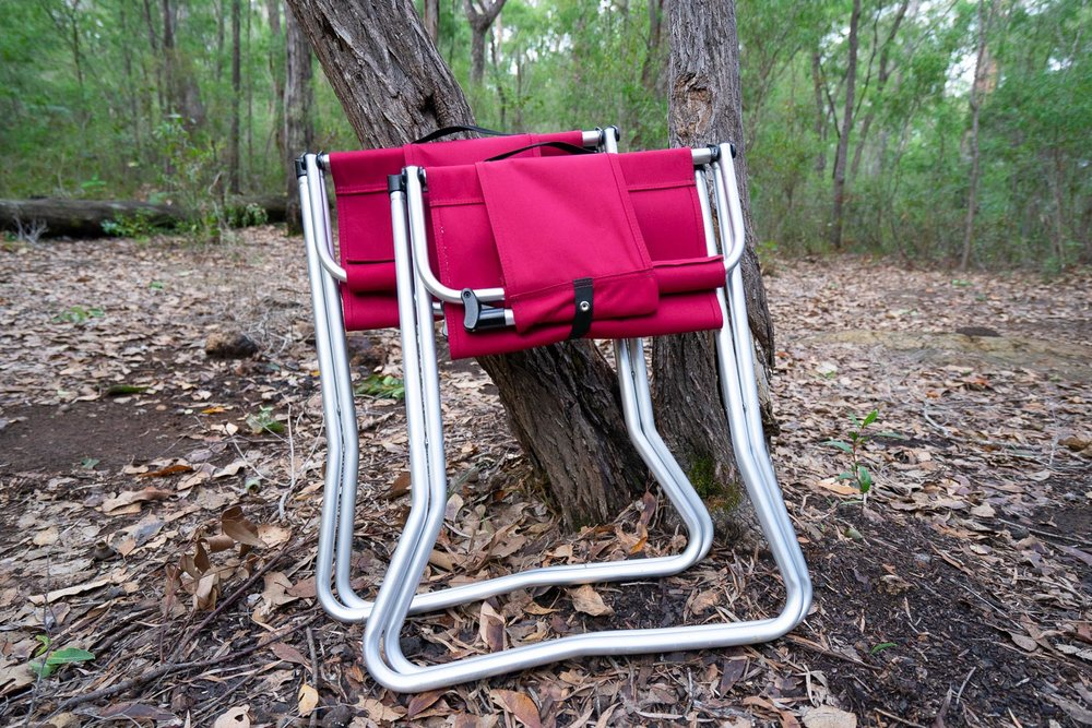 Snow Peak Red Folding Chair