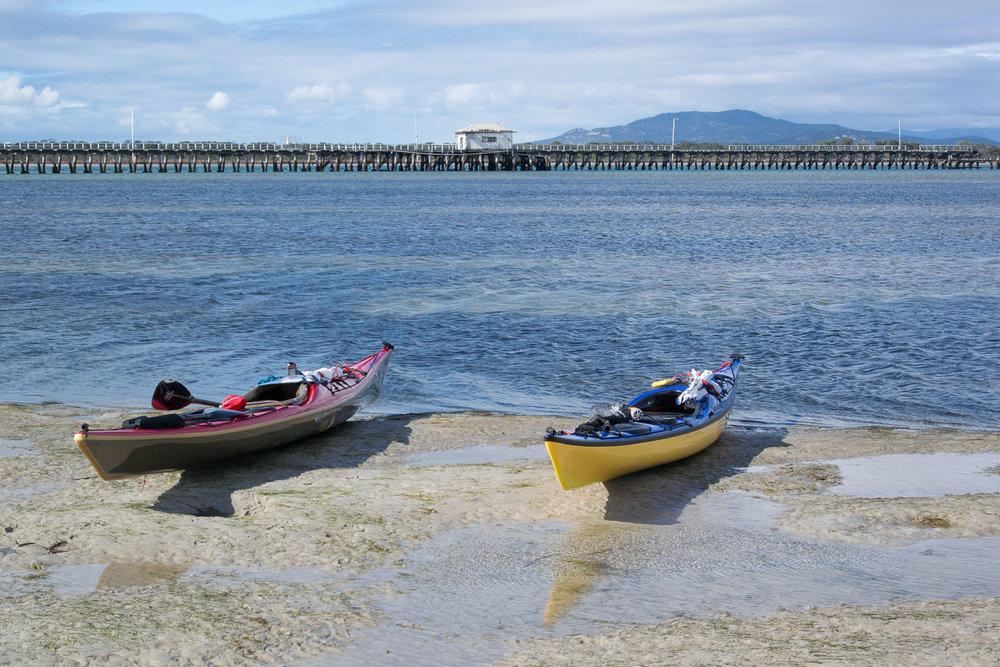 Sea Kayaking Bass Strait