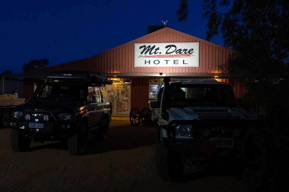 French Line, Simpson Desert - Mount Dare Hotel