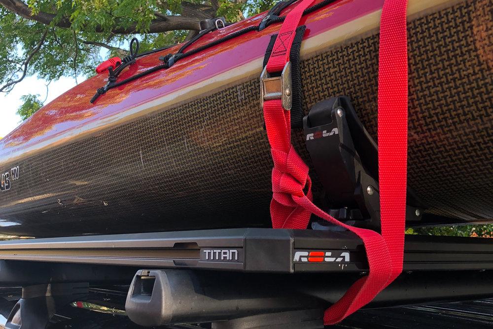 Rola Titan Tray platform aluminium 4WD Roof rack